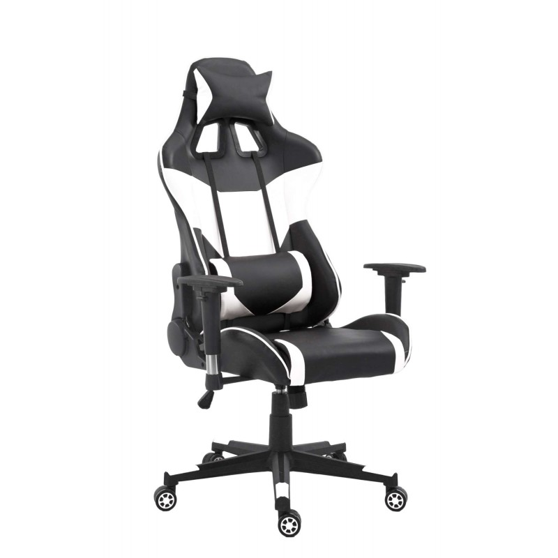 Chaise De Bureau Gamer Racer White