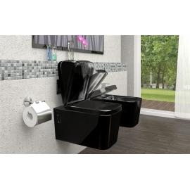 WC CUBIK Black