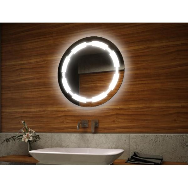 miroir led ovale 55cm On miroir ovale led