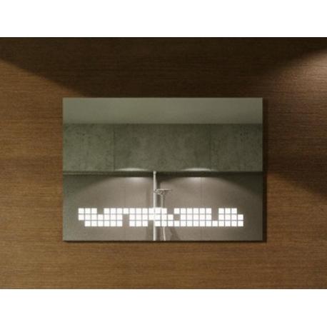 Lustro LED carré