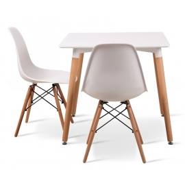Stół kwadratowy DSW EAMES B03