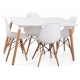 Table rectangulaire DSW EAMES B03