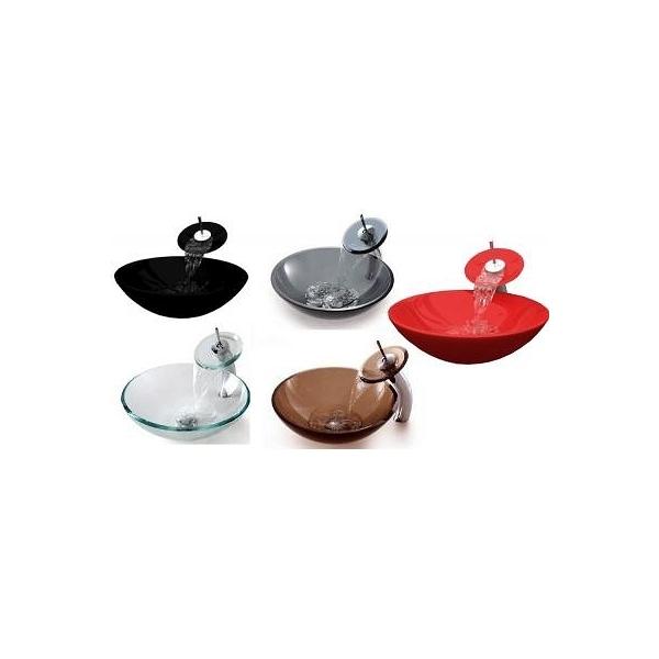 vasque en verre 71015 yardi sp z o o. Black Bedroom Furniture Sets. Home Design Ideas