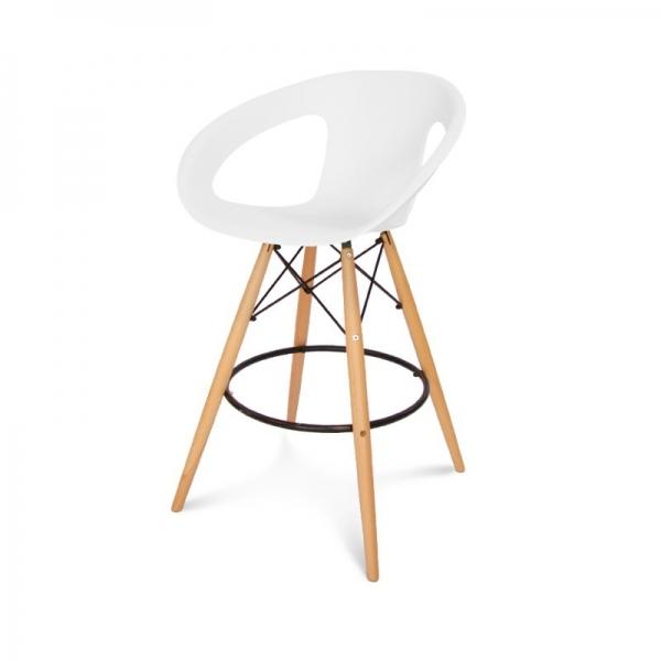 Chaise de bar Apori 232H pieds en bois APORI be # Chaise De Bar Pied En Bois
