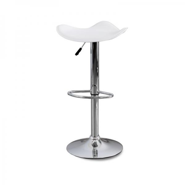 Chaise de bar apori 733 co cuir - Chaise metal cuir ...
