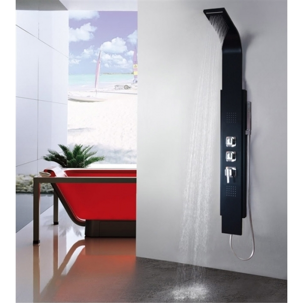 colonne de douche 8725 avec la cascade apori sp z o o. Black Bedroom Furniture Sets. Home Design Ideas