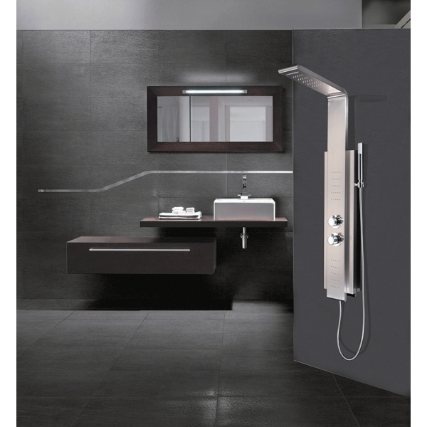 colonne de douche 8725 avec la cascade yardi sp z o o. Black Bedroom Furniture Sets. Home Design Ideas