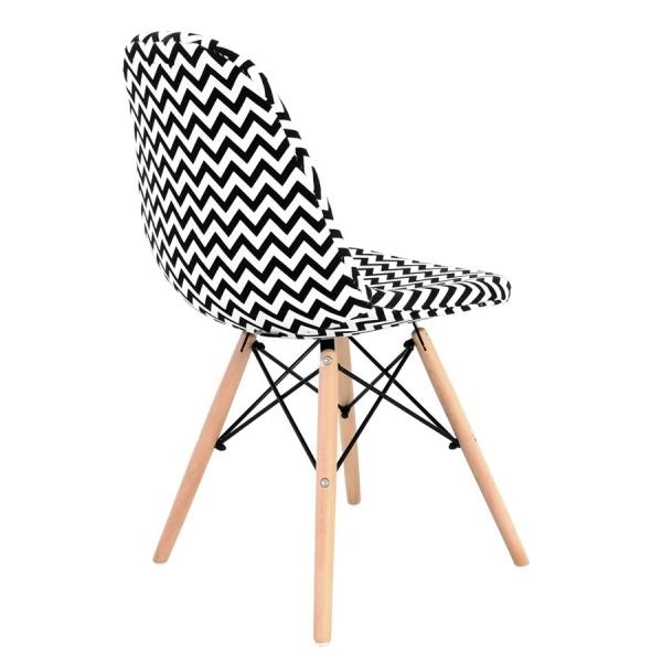 chaise retro zigzag yardi sp z o o. Black Bedroom Furniture Sets. Home Design Ideas