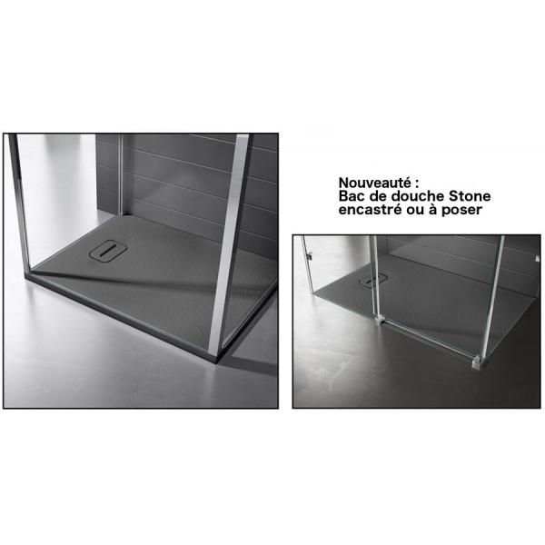 receveur de douche stone 90x90 apori sp z o o. Black Bedroom Furniture Sets. Home Design Ideas