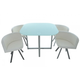 Ensemble de chaises et table Smart