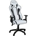 Chaise de bureau Racer blanc gamer