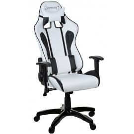 Chaise de bureau Racer blanc