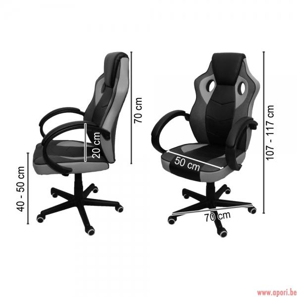 Chaise de bureau gamer maranello rs - Chaise de bureau gamer ...