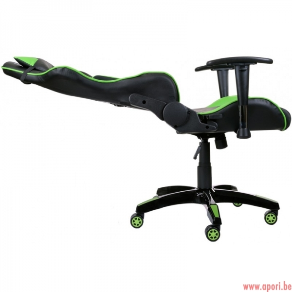 chaise de bureau gamer racer vert apori sp z o o. Black Bedroom Furniture Sets. Home Design Ideas