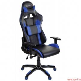 Chaise de bureau (gamer) Racer Bleu