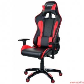 Chaise de bureau (gamer) Racer Rouge