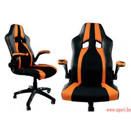 Chaise de bureau (gamer) ROYALE PRO ORANGE