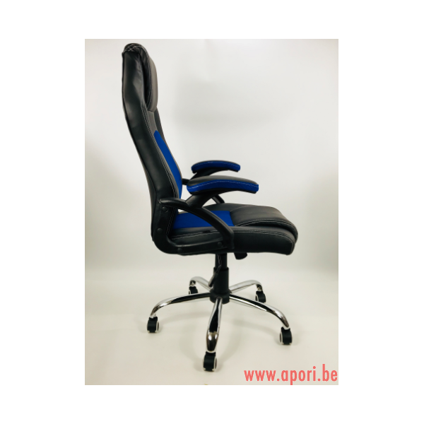 chaise de bureau carrera pro bleu apori sp z o o. Black Bedroom Furniture Sets. Home Design Ideas