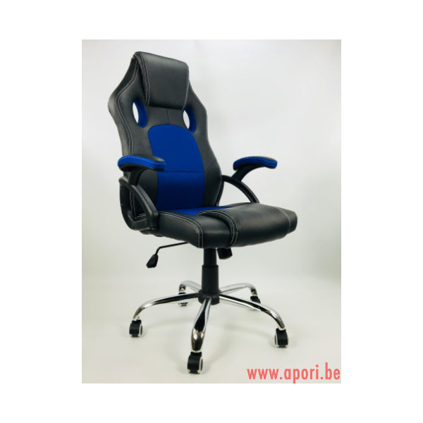 chaise de bureau carrera pro bleu apori sp z o o. Black Bedroom Furniture Sets. Home Design Ideas