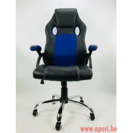 Chaise de bureau Carrera pro bleu