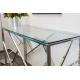 Table en verre 120X40 CT-01