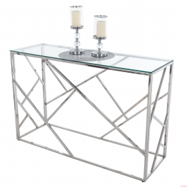 Table en verre 120X40 CT-01