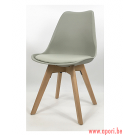 Chaise de salon MONZA PRO LIGHT GREY