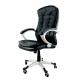 Chaise de bureau AREZZO NERO