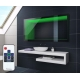 ILLUMINATION LED 3D MIROIR SUR MESURE ECLAIRAGE SALLE DE BAIN L3D