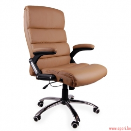 Chaise de bureau deco DARK BEIGE
