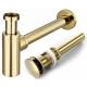 Siphon click-clack gold
