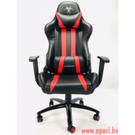 Chaise de bureau GAMER WARIOR RED - FULL MOVEMENT