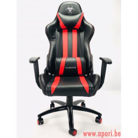 Chaise de bureau GAMER WARIOR RED - FULL MOVEMENT