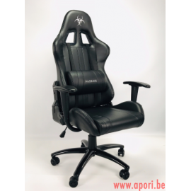 Chaise de bureau GAMER WARIOR BLACK - FULL MOVEMENT