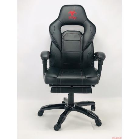 Chaise de bureau TITAN BLACK - Comfort édition