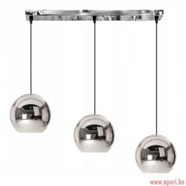 Lampe boule 3x20cm