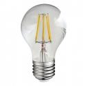Ampoule décorative à 360 ° LED FA60 E27 450lm, 4W, filament 3000K