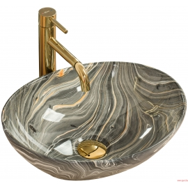 Vasque en céramique SOFIA GREY