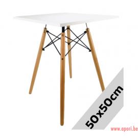Table carré STELLA BIANCO 50x50