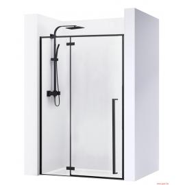 Porte de douche FARGO Noir