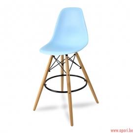 Chaise de bar FORMOSO bleu
