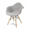Chaise en tissu Retro