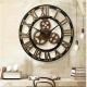 Horloge murale Noir 3D 60cm