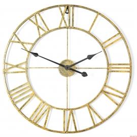 Horloge murale en métal 60CM Rétro MCT20T-60