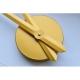 Horloge murale DIY NEPRI 65-130 cm - 3D or