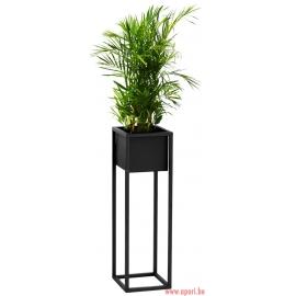 Pot de fleur en métal noir 70cm FS-C70