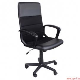 Chaise de bureau GIOSEDIO noire, modèle FBD004