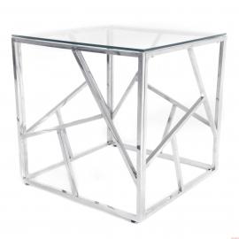 TABLE CONSOLE EN VERRE 55X55 CT-02