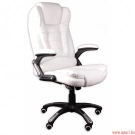 Chaise de bureau GIOSEDIO blanc, modèle BSB/002