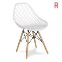 Chaise scandinave YE-01 white